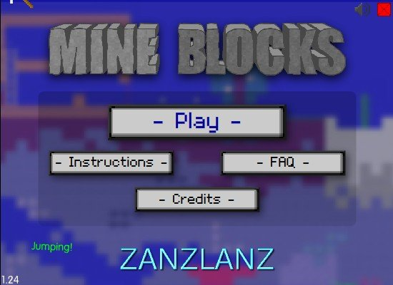 Mine Blocks – 2D Minecraft in Flash