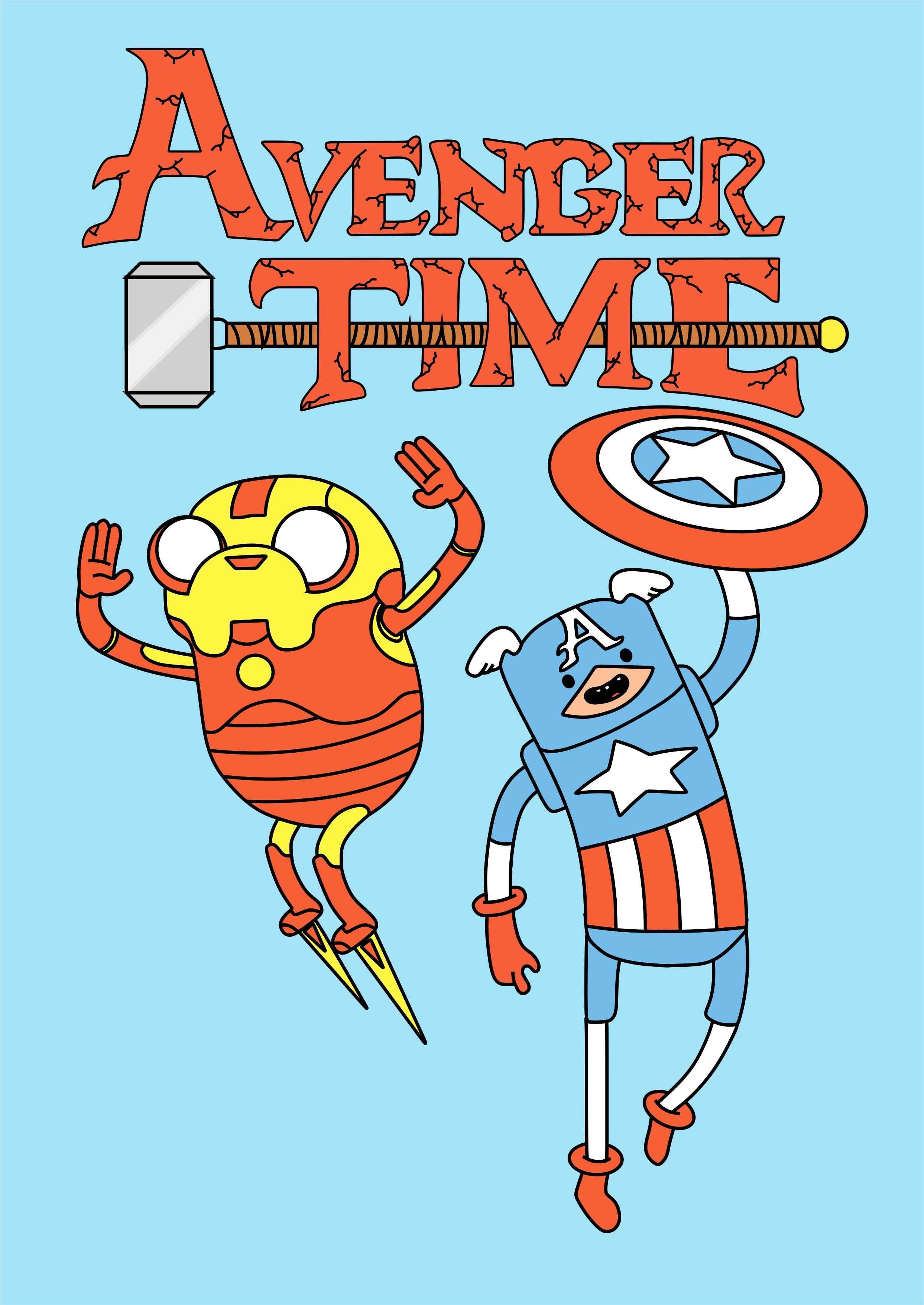 Imagens da Hora da Aventura Avenger Time