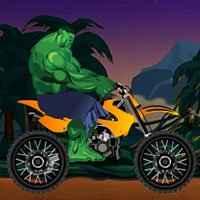 Incrível Hulk Desafio de Moto