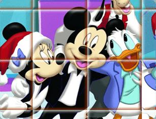 Quebra Cabeça do Mickey