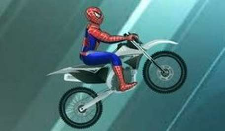 Spiderman Ice Bike