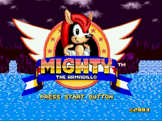 Jogo Mighty The Armadillo in Sonic the Hedgehog Online Gratis