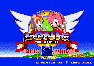 Sonic the Hedgehog 2 – Pink Edition