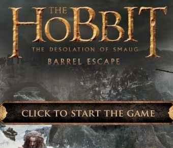 The hobbit – Barrel Escape