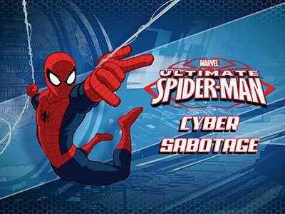 Cyber Sabotage Ultimate Spider-Man Products