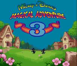 Jogo Mickey to Donald – Magical Adventure 3 English Online Gratis
