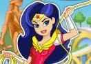 DC Super Hero: Vestir Mulher Maravilha