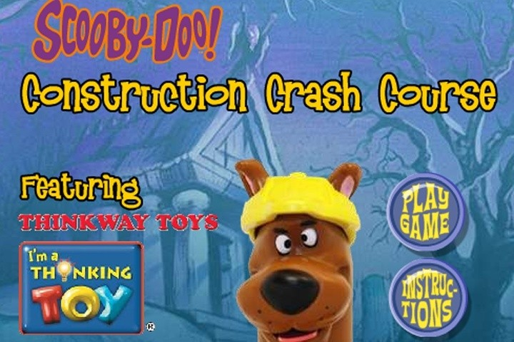 Jogo Scooby Doo Construction crash course Online Gratis