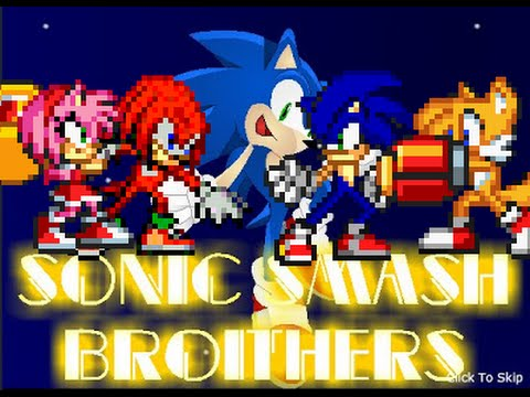 Sonic Smash Brothers Hacked