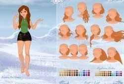 Frozen criar personagens