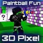 Paintball Fun 3D Pixel Game