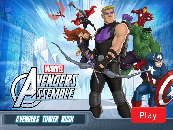 Avengers Tower Rush hacked