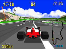 Virtua Racing – Sega Genesis (Mega Drive) Game