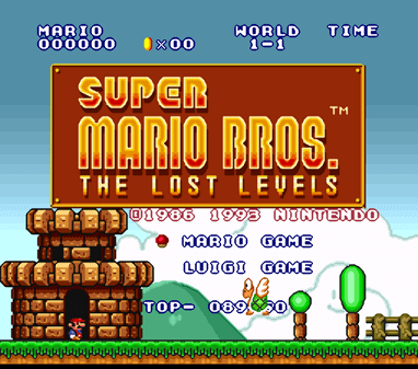 Super Mario Bros The Lost Levels