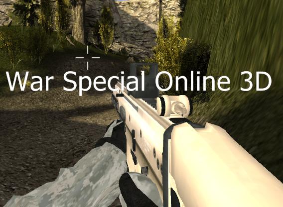 War Special Online 3D no PC
