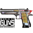 Jogo World of Guns: Gun Disassembly no Facebook Online Gratis