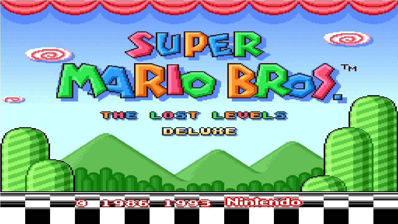 Jogar Super Mario Bros The Lost Levels Deluxe Gratis Online