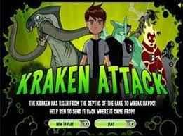 Jogo Ben 10 Contra o Krakken Online Gratis