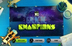 Ben 10 Omniverse Game – Galactic Champions