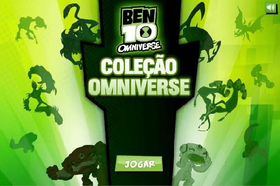 Jogo Ben10: Coleção Omniverse Online Gratis