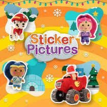 Nick Jr: Sticker Pictures