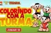 Jogo Turma da Mônica – Vamos Pintar! Online Gratis