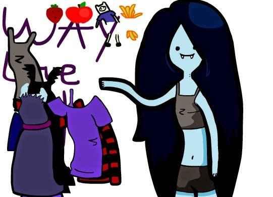 Hora de Aventura: Marceline Vestir