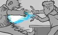Não Arrebente seu Chefe com Superpoderes