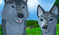 Jogo Lobo à Solta: Simulador 3D Online Gratis