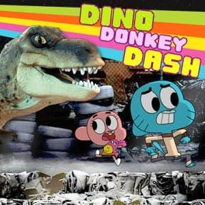 Incrivel Mundo de Gumball: Dino Donkey Dash