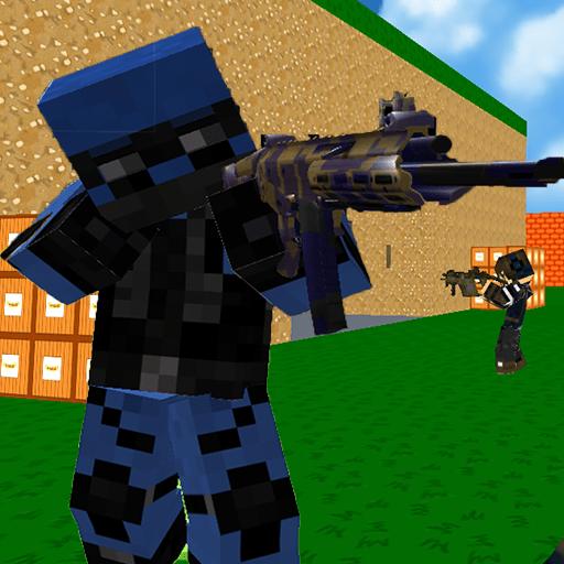 Jogo Blocky Combat Swat 3 Online Gratis
