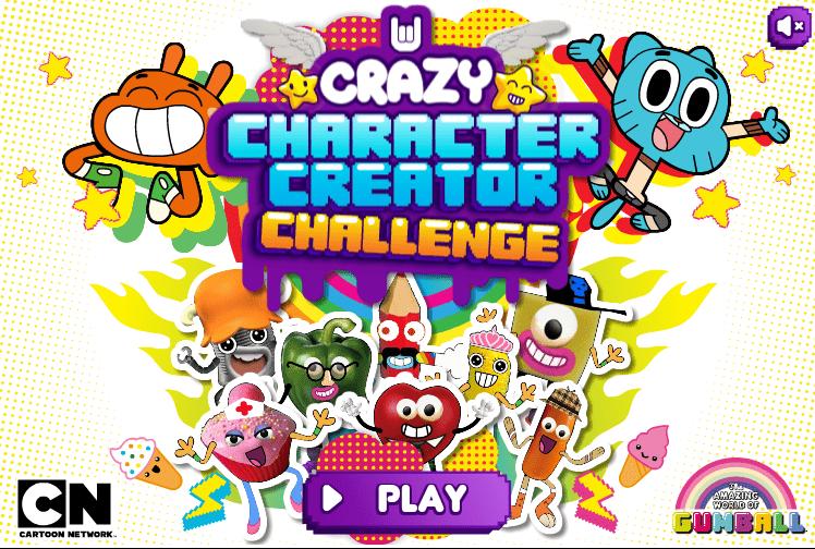Gumball : Crazy Character Creator Challenge