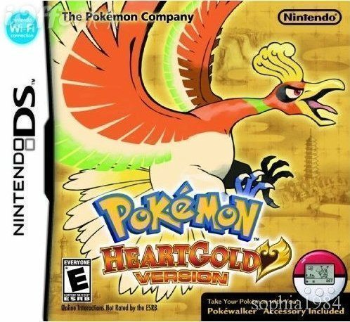 Pokemon – Heart Gold Version – Online-Console