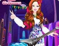 Barbie Monster High Dress Up