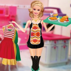 Jogo Barbie Waitress Fashion Online Gratis