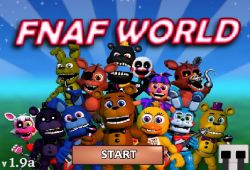 FNAF World Jumpscares