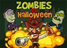 Zombies vs Halloween