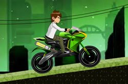 Moto Rápida do Ben 10