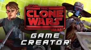 Jogo Star Wars: The Clone Wars Game Creator | Build and Play Your Own Games | Cartoon Network Online Gratis