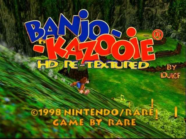 Banjo-Kazooie HD Online N64