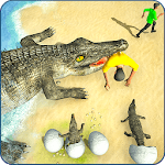 Jogo Crocodile Simulator Attack Game 3D Online Gratis
