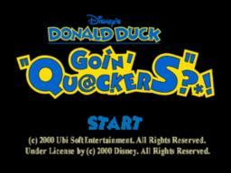 Disney's Donald Duck – Goin' Quackers Online