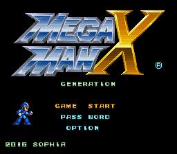 Mega Man X – Generation Online