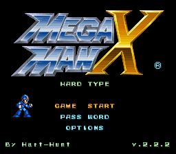 Mega Man X – Hard Type (v.2.2.2) Online