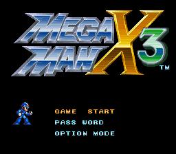 Mega Man X3 – Zero Project (Ver. 3.0) Online