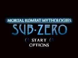 Mortal Kombat Mythologies – Sub-Zero Online