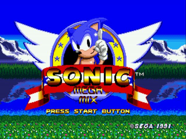 Sonic 1 Megamix (v3.0) Online