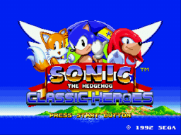 Sonic Classic Heroes Online