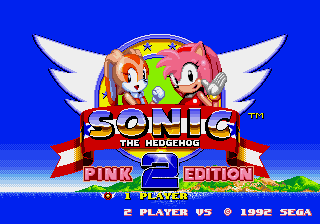 Sonic the Hedgehog 2: Pink Edition