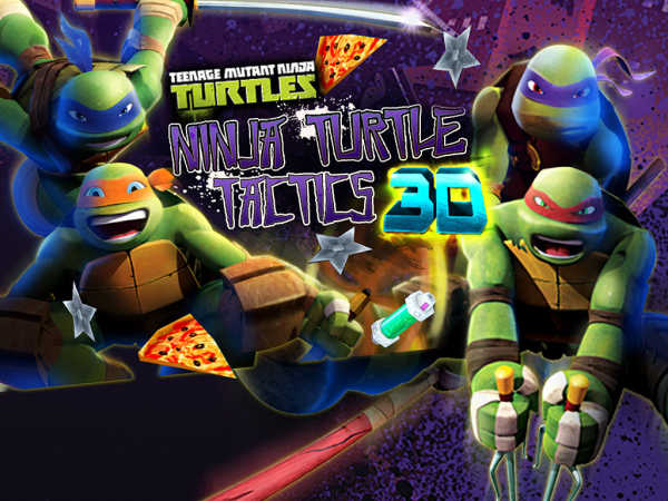 Teenage Mutant Ninja Turtles Tactics 3D